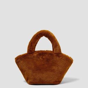 Zara Furry Textured Mini Bag